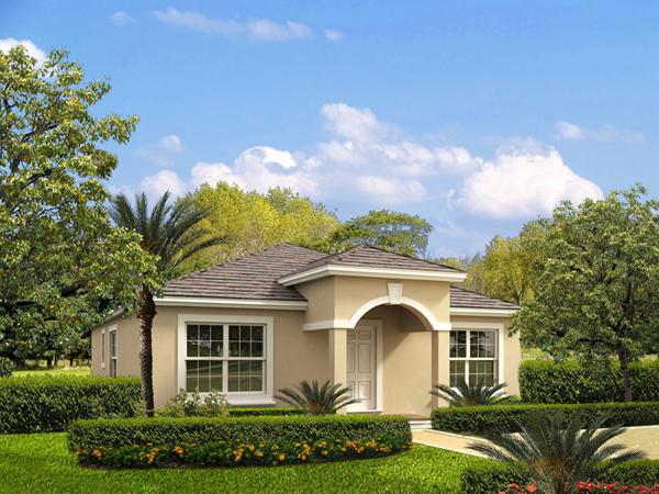 Exterior Florida Style House Plans #5 Of 10 Photos