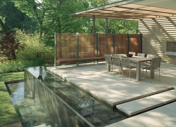 decks and landscape design features