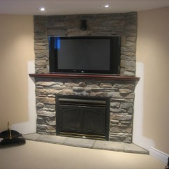 How To Arrange Living Room Furniture With Fireplace And Tv Tiles Images Modern Stone Veneer #2259   Interior Ideas