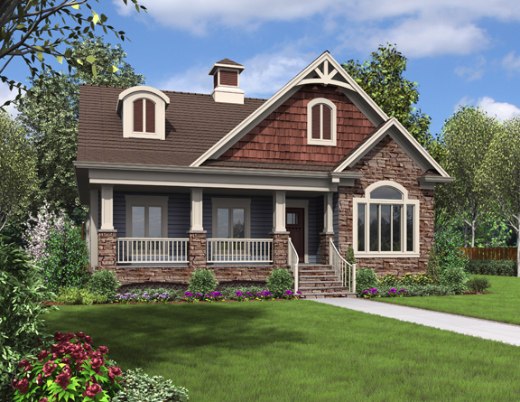Small Cottage Home Plans #1698 Exterior Ideas