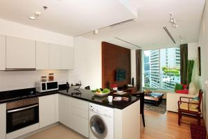 Small Spaces Kitchen And Living Room Apartment In One Room ...