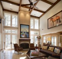 Best Living Room With Vaulted Ceiling #7933