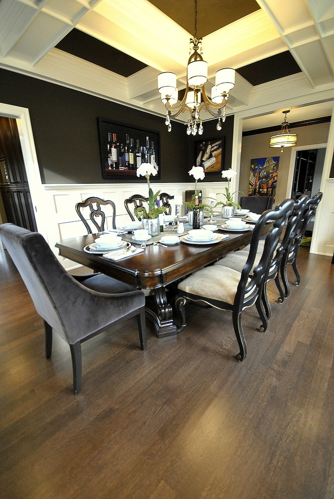 Classic Dining Room In Luxury Design 5918  House