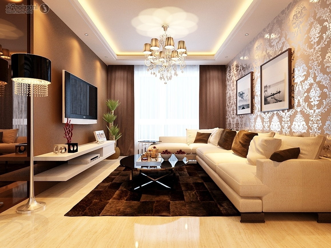 Luxury Japanese Living Room Furniture With TV 6090
