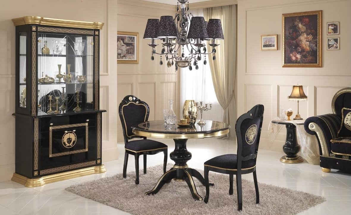 Private Italian Dining Room Round Table 8423  House