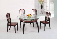 Wooden Dining Table Designs With Glass Top #13554 ...