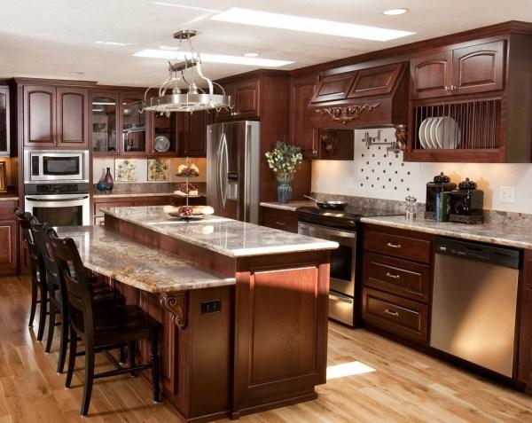 Wooden Italian Kitchen Decor #8523 House Decoration Ideas
