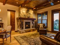 Classy Rustic Living Room Interior With Modern Elements ...