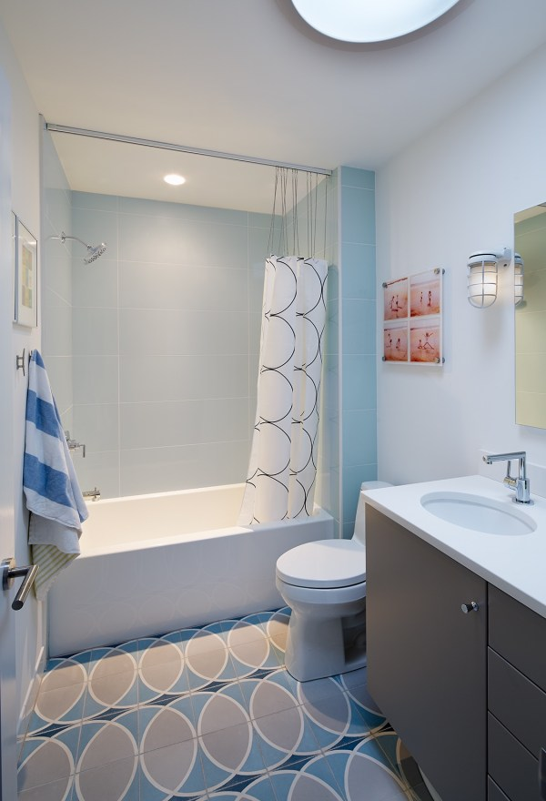 Bathroom with Tub and Shower Combo