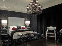 Gorgeous Gothic Decor Style For Bedroom Interior #16720