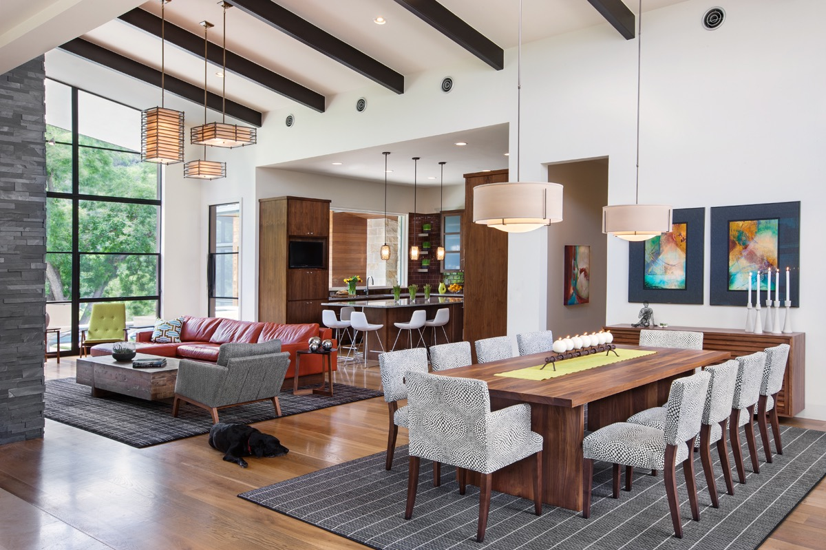30 43 Ideas Living Room And Dining Interior Combo