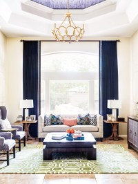 Neutral Curtains For Living Room | Baci Living Room