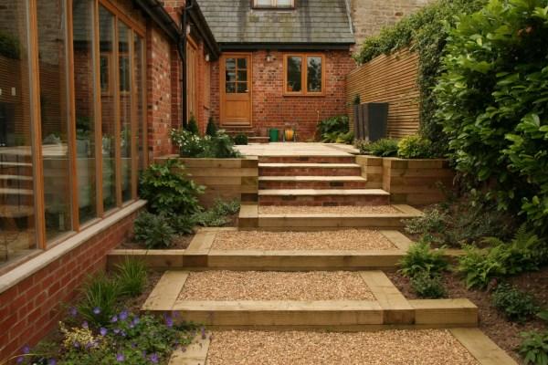 minimalist garden style beautiful