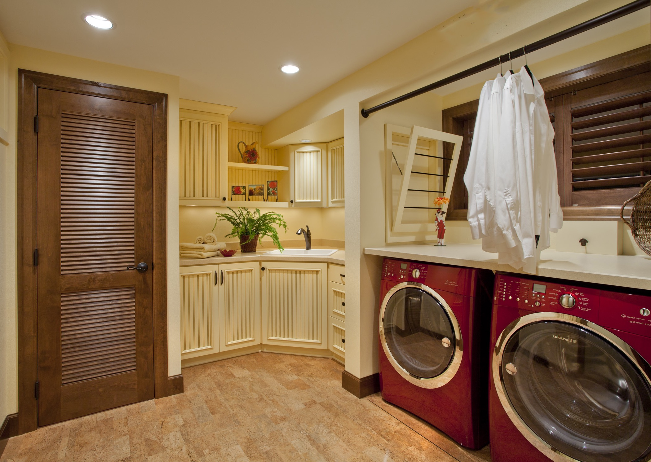 Small Space Solution Kitchen And Laundry Room Combo 15127  Kitchen Ideas