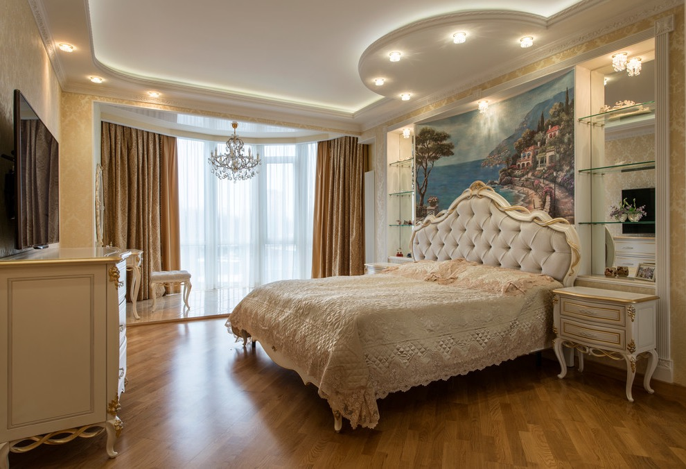 Bedroom Victorian Decor Style for Bedroom and Living Room