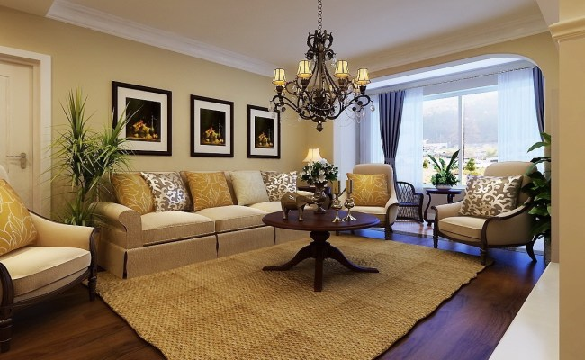 Mediterranean Living Room Design With Relaxed Mood 16216
