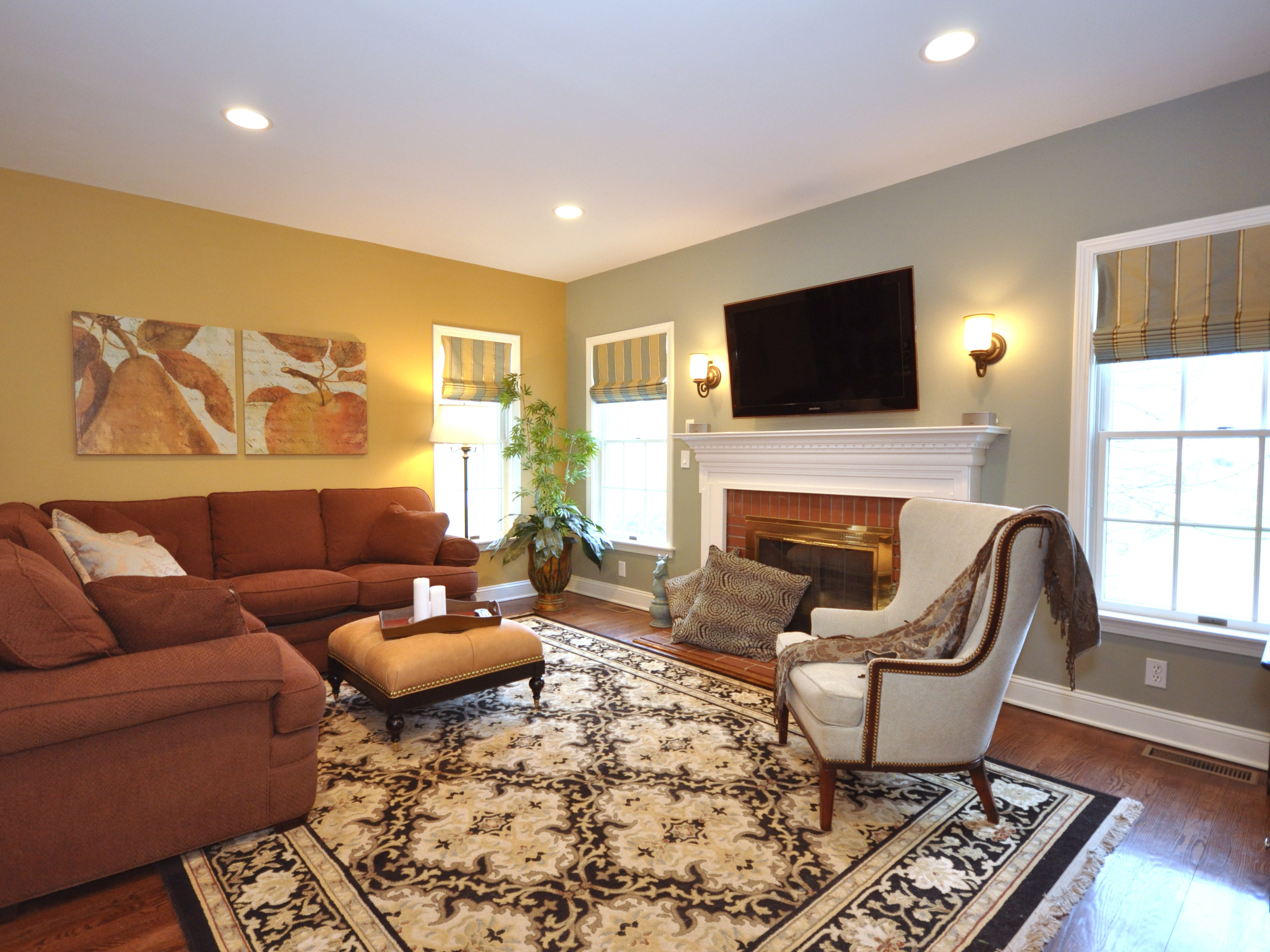 20 Best Living Room Paint And Colour Schemes 18543  Living Room Ideas