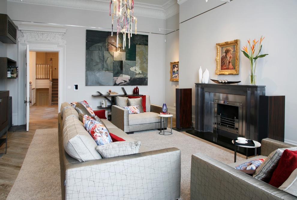 20 Art DecoInspired Living Room Design And Ideas 18354