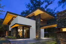 Modern Stacked Stone and Stucco Homes