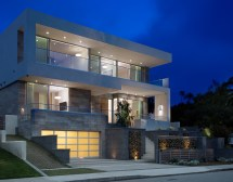 Modern Concrete and Stone House