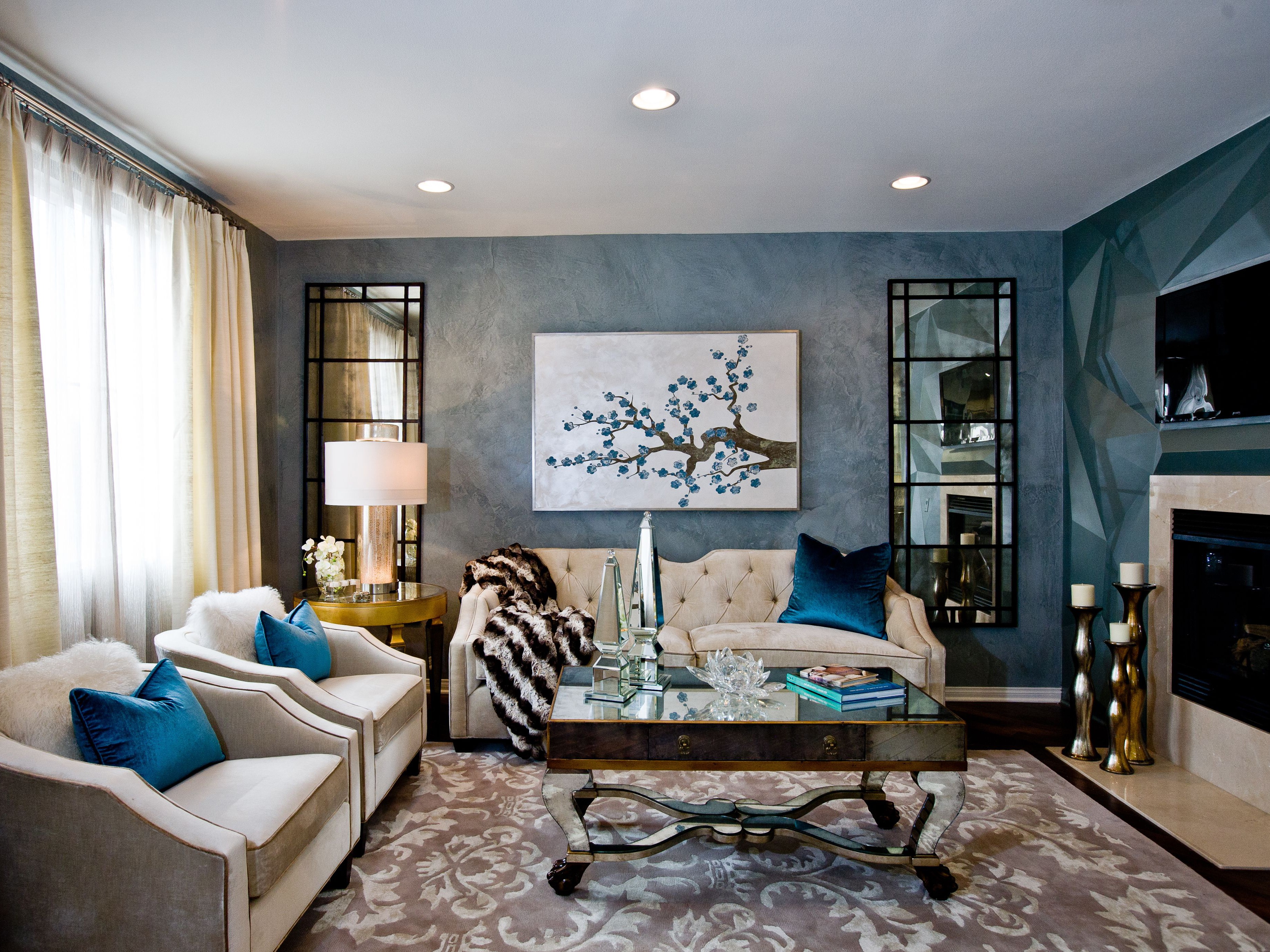 20 Art DecoInspired Living Room Design And Ideas 18354