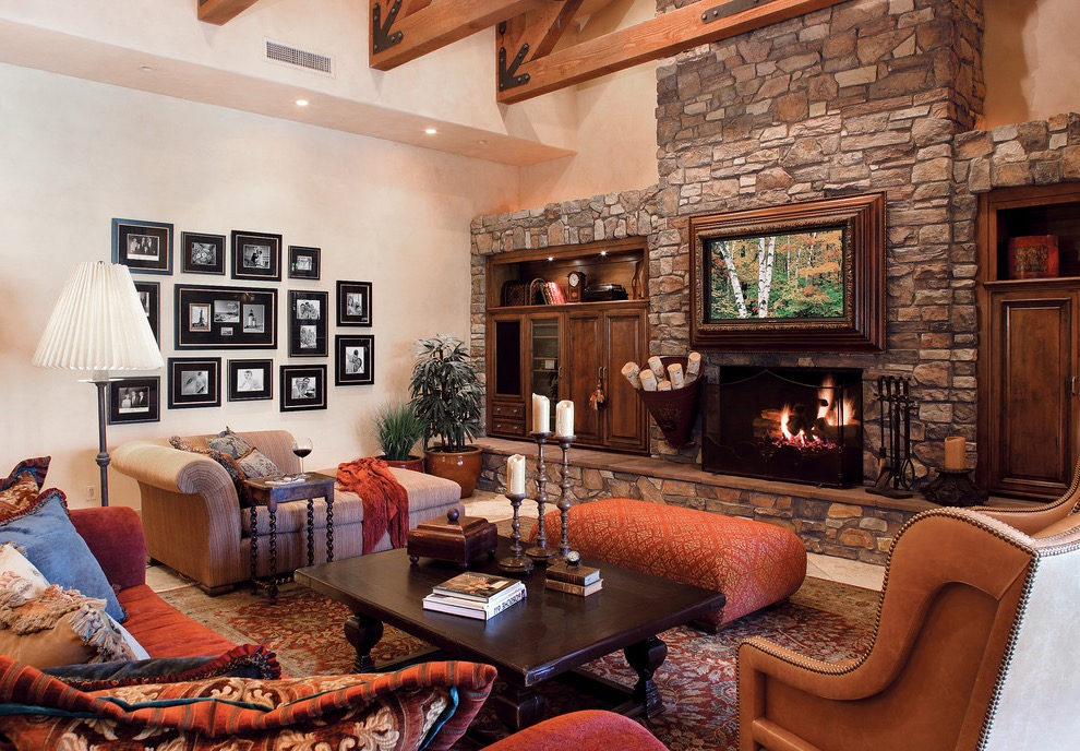 20 Elegant Italian Living Room Interior Designs 18461