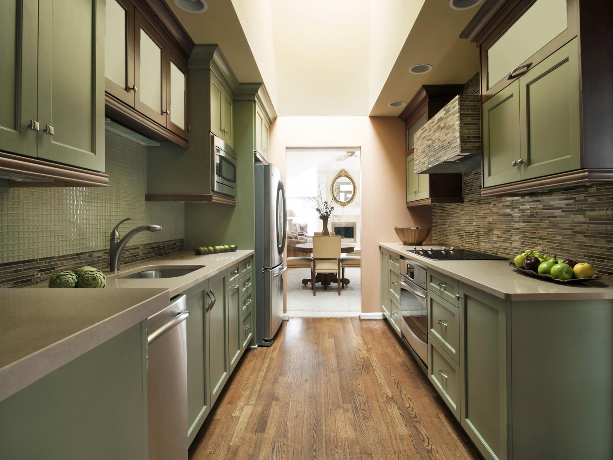 narrow kitchen countertops best lights for a 10 design ideas long room 18737