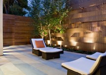 Modern Outdoor Fence Lighting