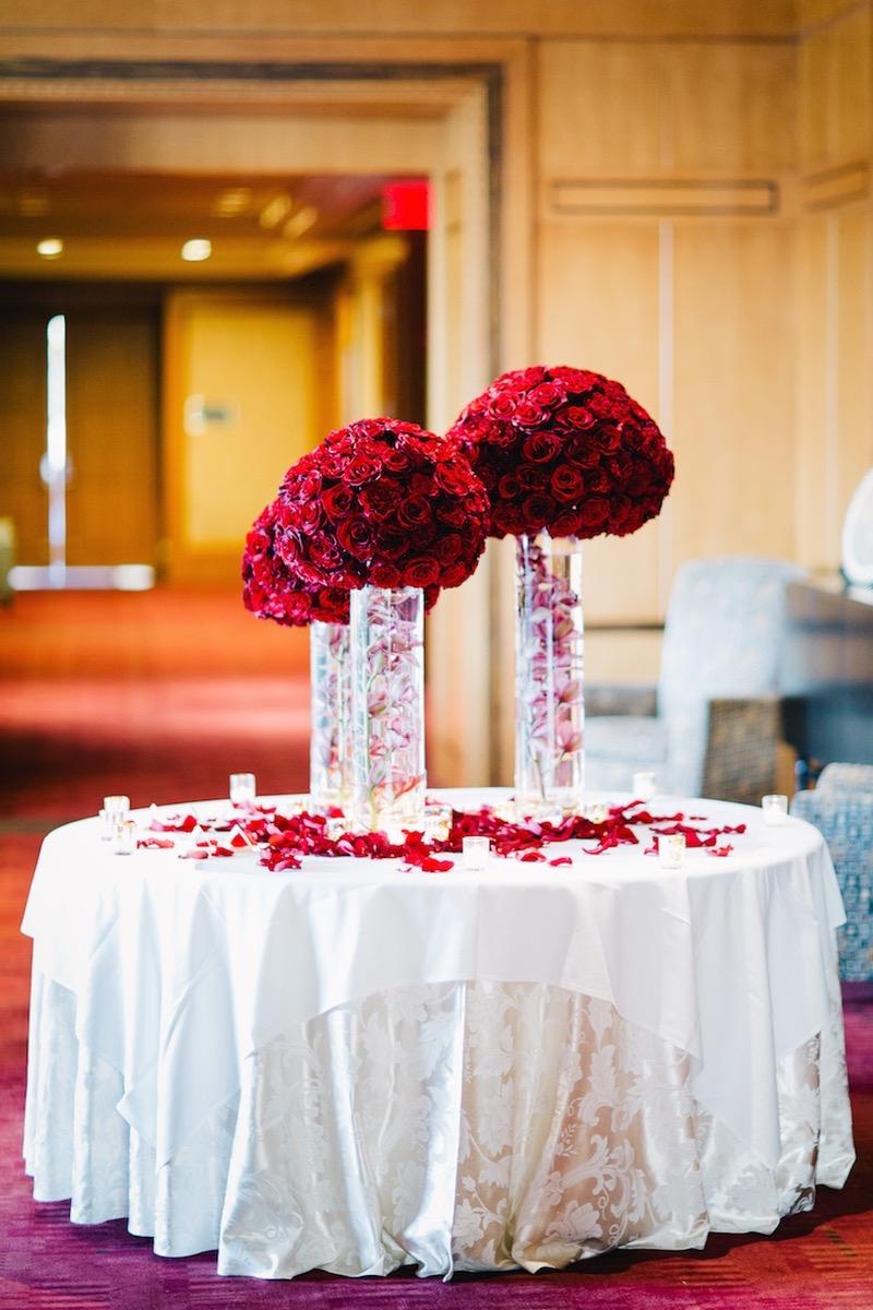 15 Romantic Red Wedding Centerpieces Ideas 19319  Centerpieces Ideas
