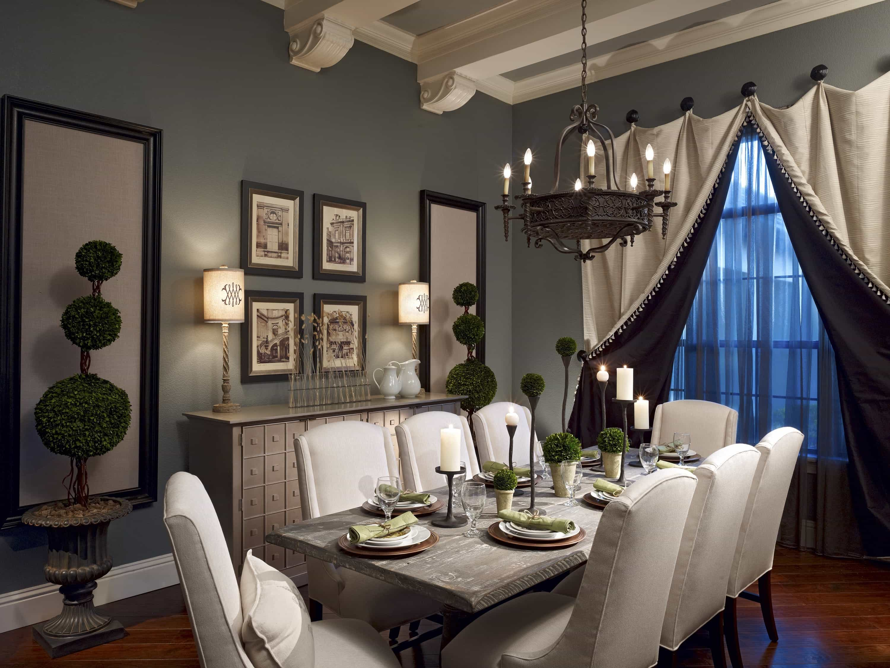 Romantic Dining Room Furniture For Romantic Family 24087