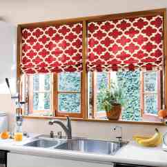 Red Valances For Kitchen Windows Hanging Light Fixtures Impressive Diy Window Curtains 23637 Ideas
