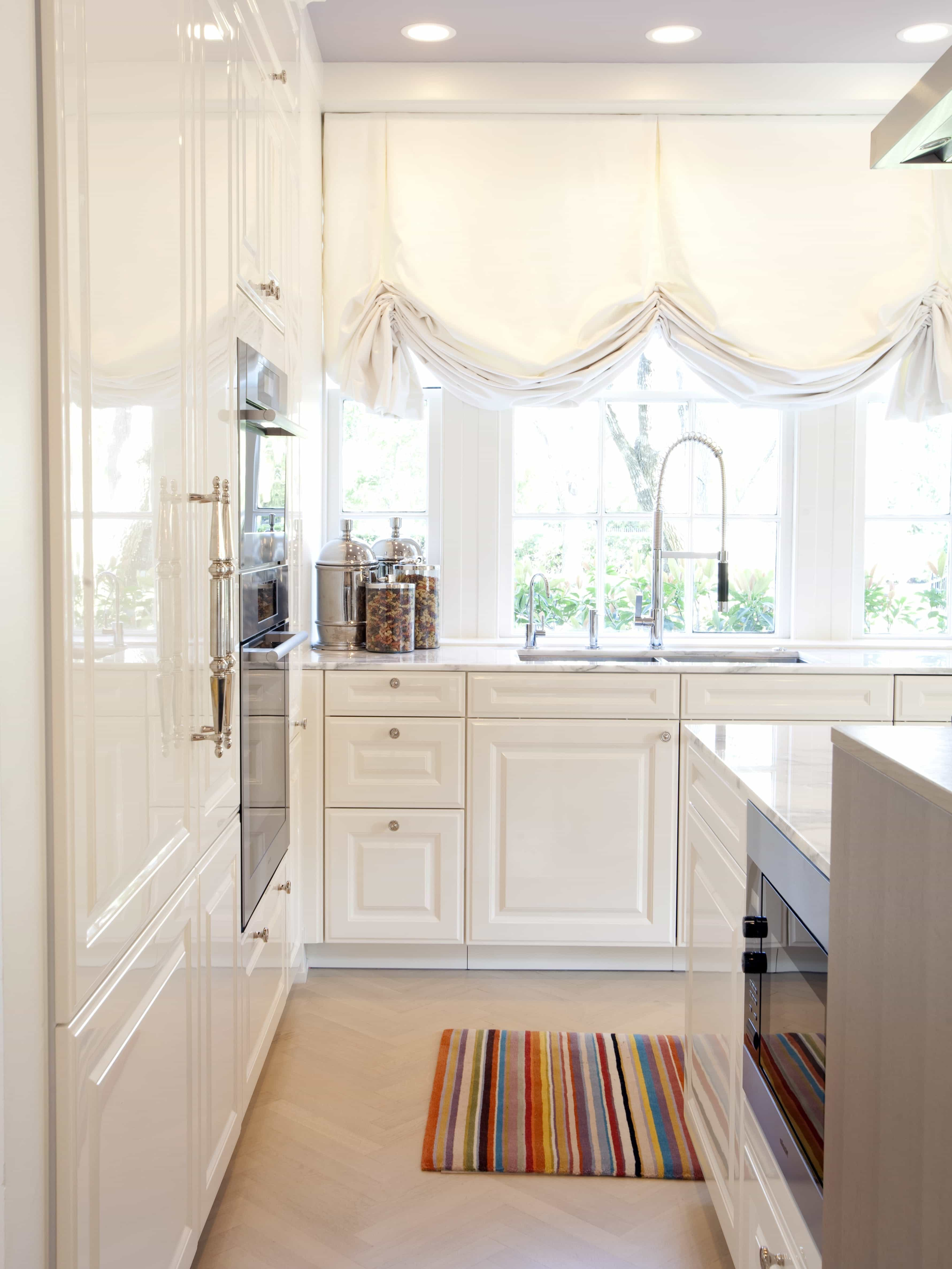 Impressive DIY Kitchen Window Curtains 23637  Kitchen Ideas