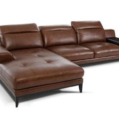 Baxton Studio Dobson Leather Modern Sectional Sofa Ashley Furniture Red Ideas