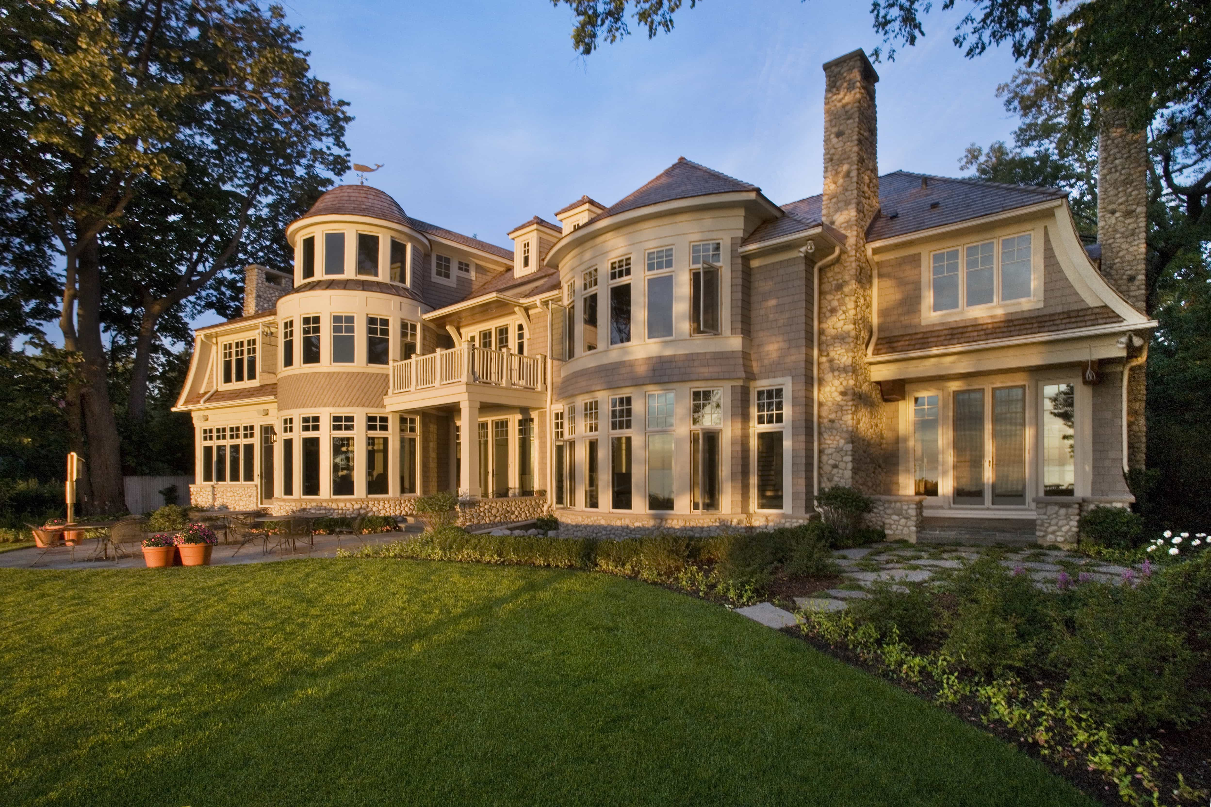 Elegant cape house designs house floor ideas for Mansions in cape cod