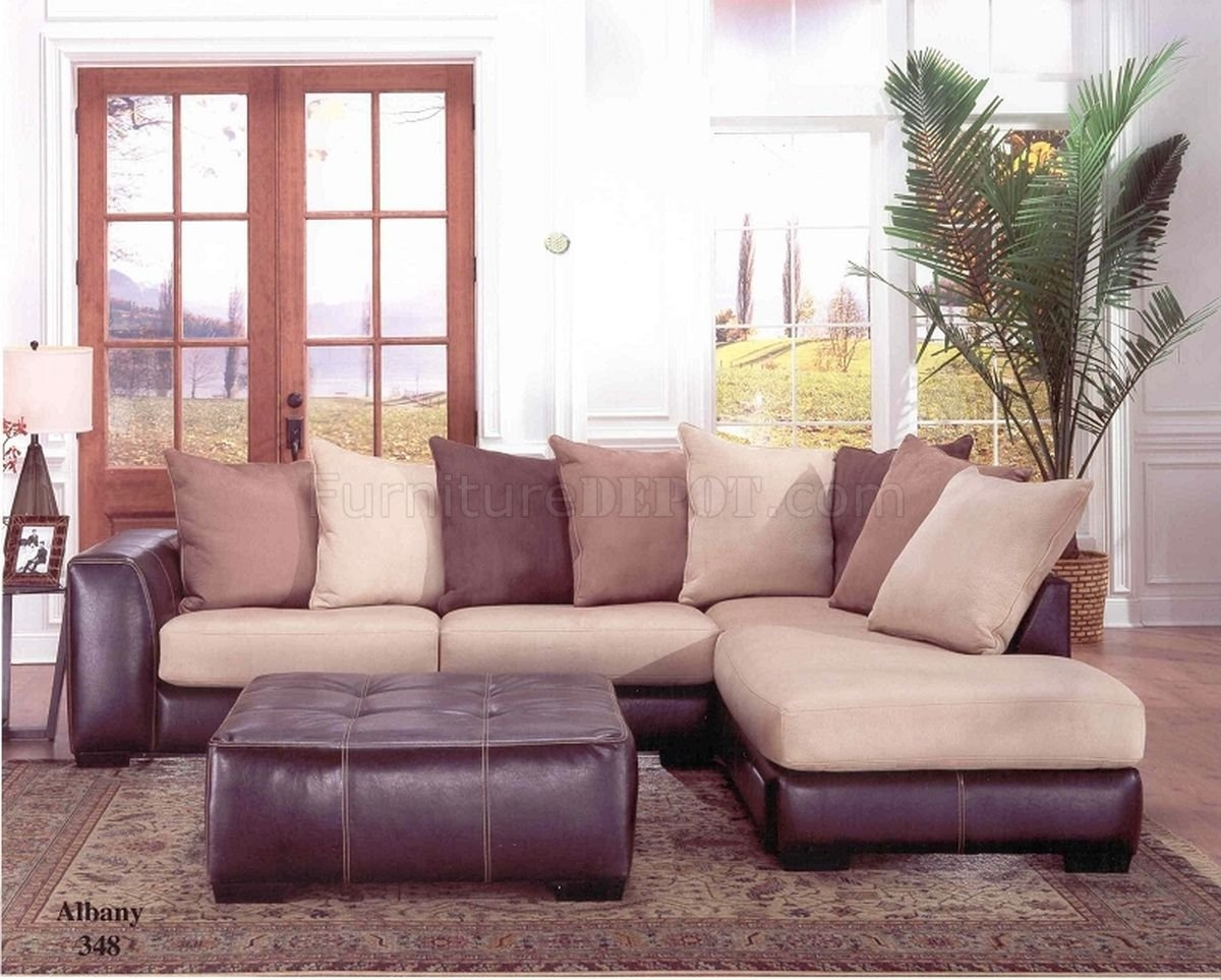 albany leather sofa sectional couch connector snap style industries furniture raymour
