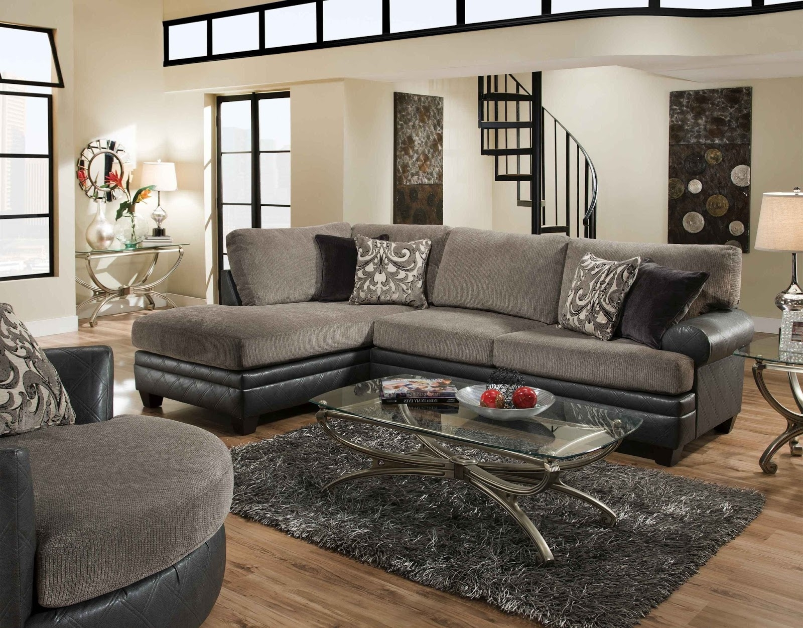 albany industries leather sofa teal velvet ebay sectional | ideas
