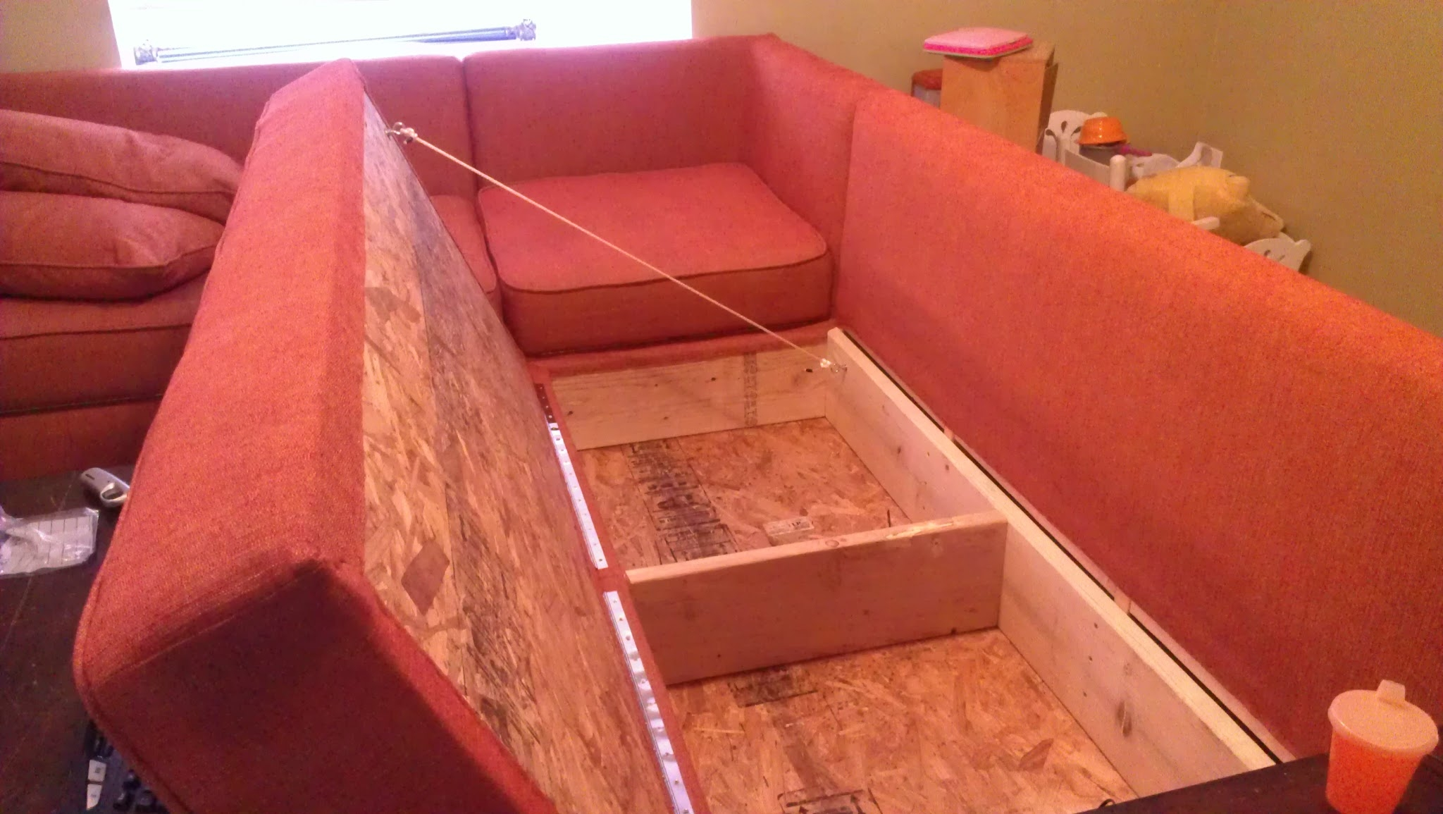 diy sofa repair convertible bed with chaise sectional ideas