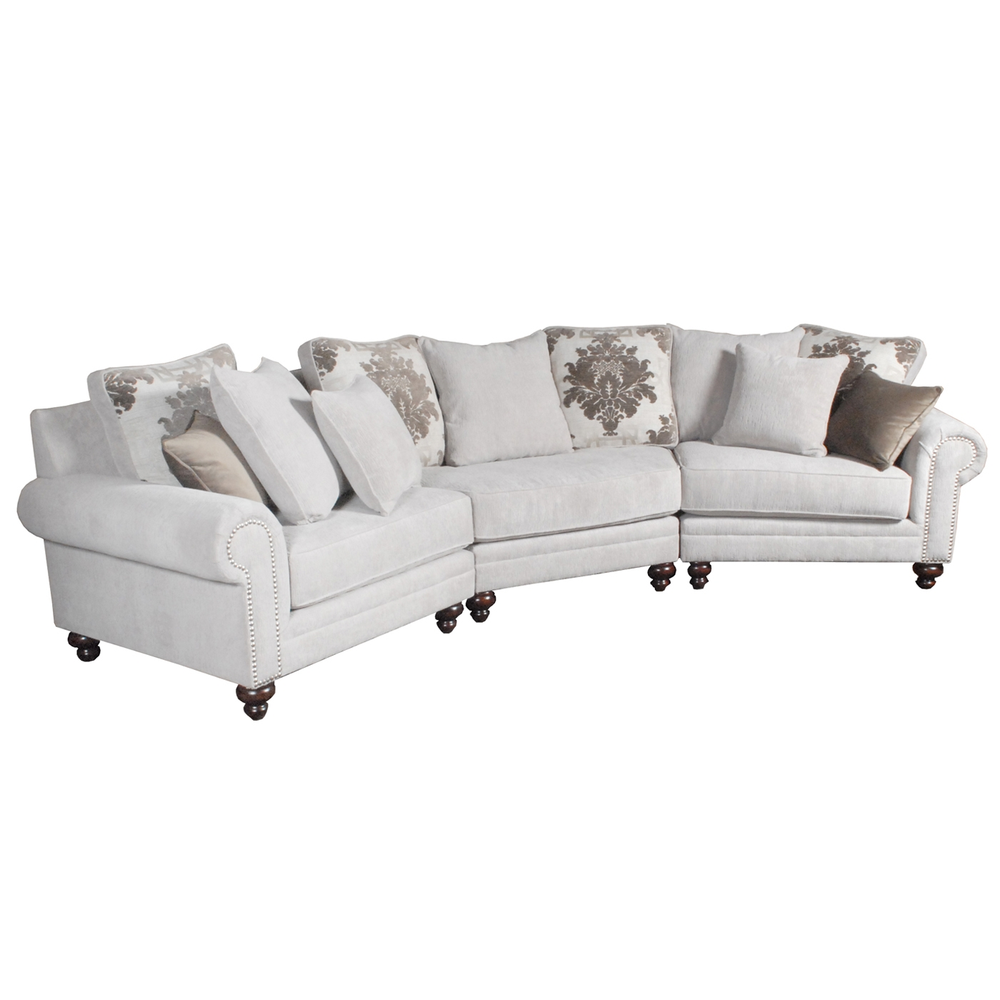 right angled sectional sofa 2 seat bed leather norwalk ord casual
