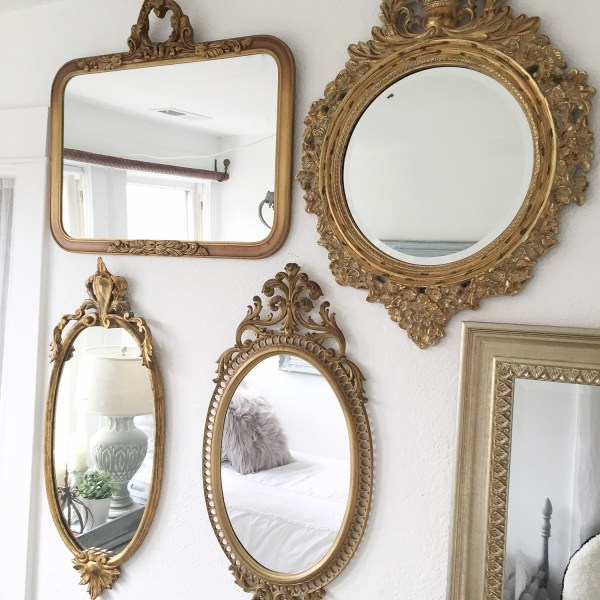 Vintage Antique Wall Mirrors