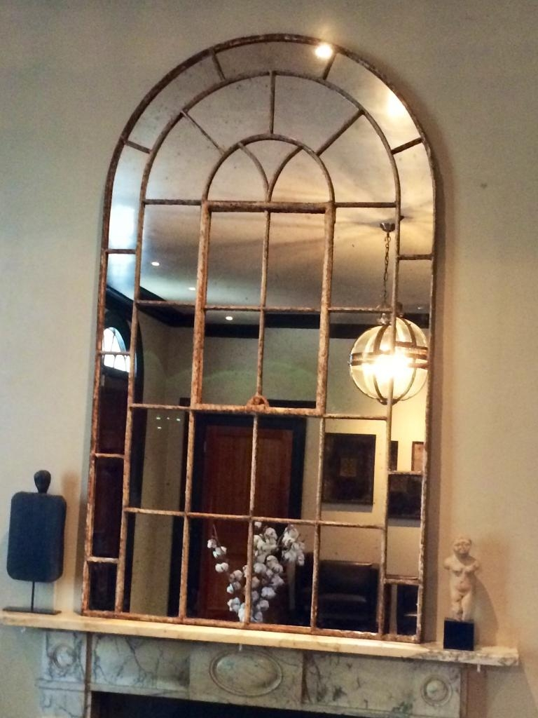 15 Photos Large Arched Window Mirror Mirror Ideas