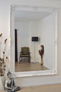 15 Best Large White Antique Mirror | Mirror Ideas