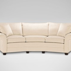 Conversation Sofas Reviews Sofa Table 5 Feet Long Fresh Curved Sectional