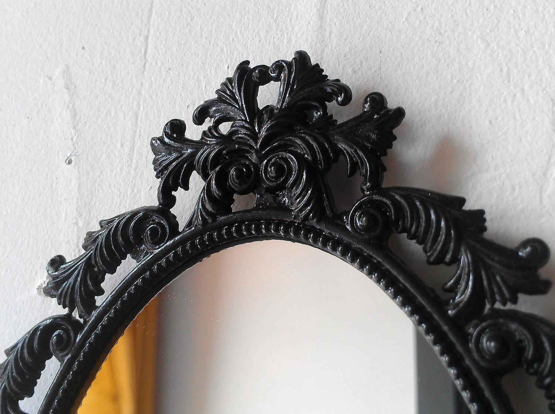 15 Ideas Of Oval Black Mirror