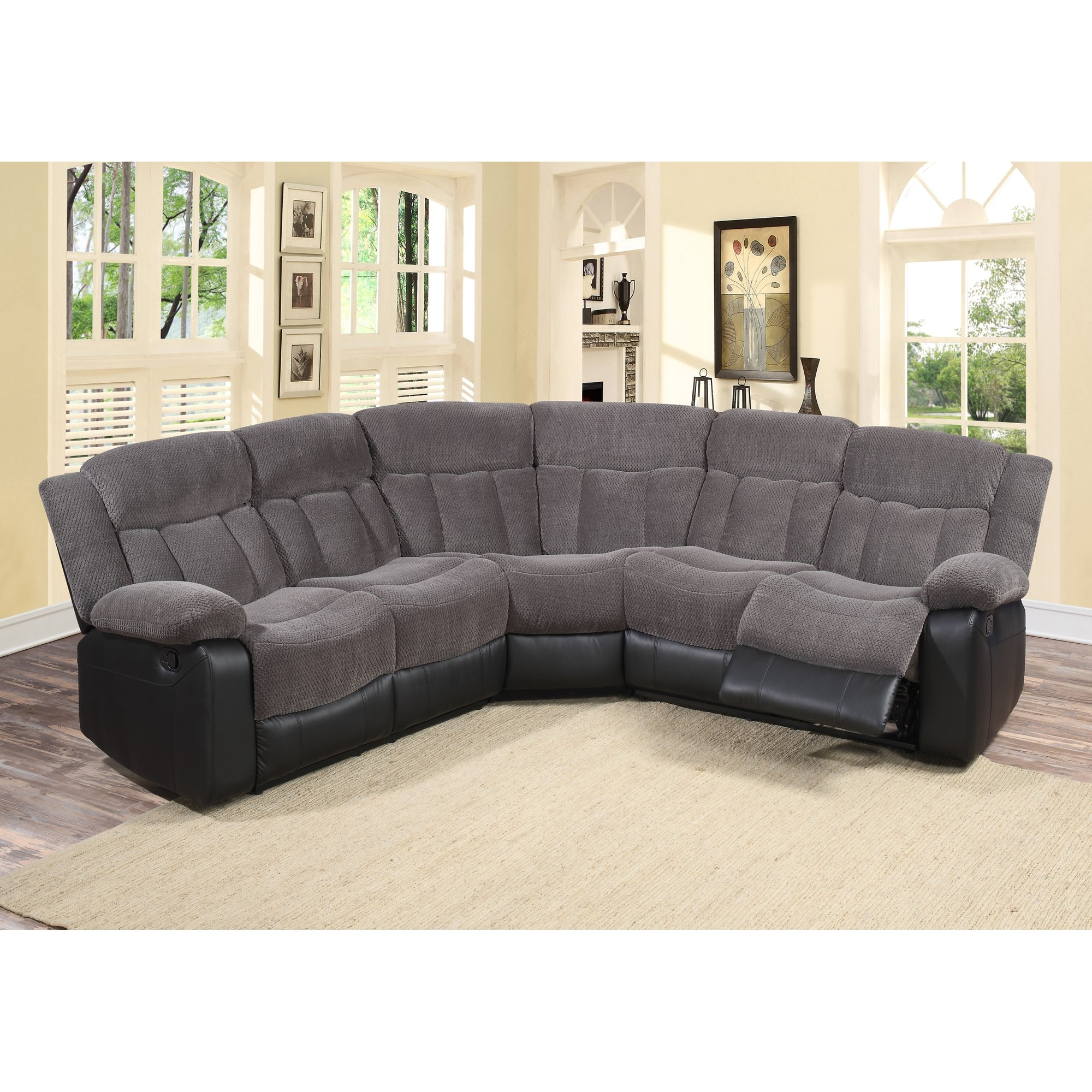 small modular sofa sectionals double loveseat sleeper chair 15 collection of 6 piece sectional | ideas