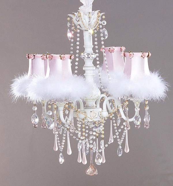 Small Shabby Chic Chandelier Ideas