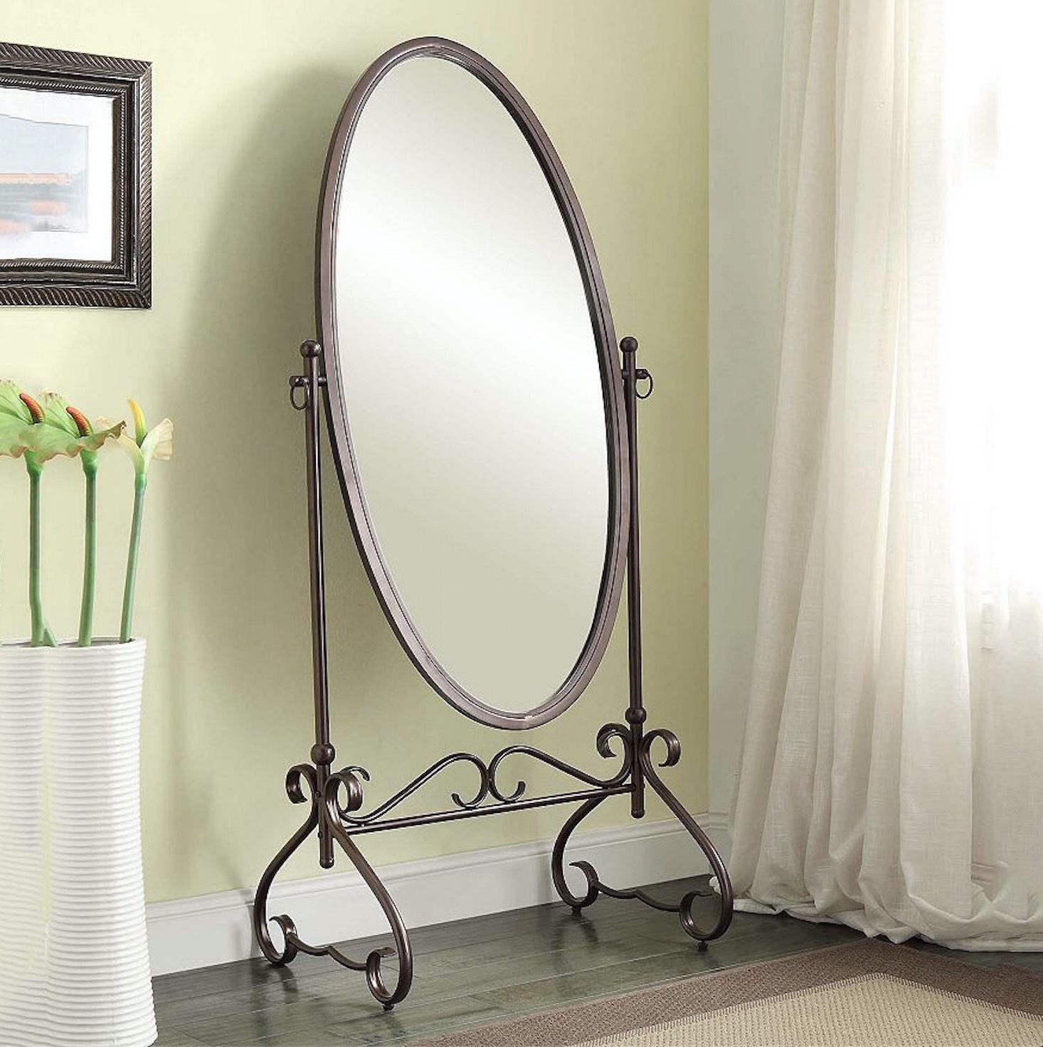 15 Inspirations Antique Free Standing Mirror