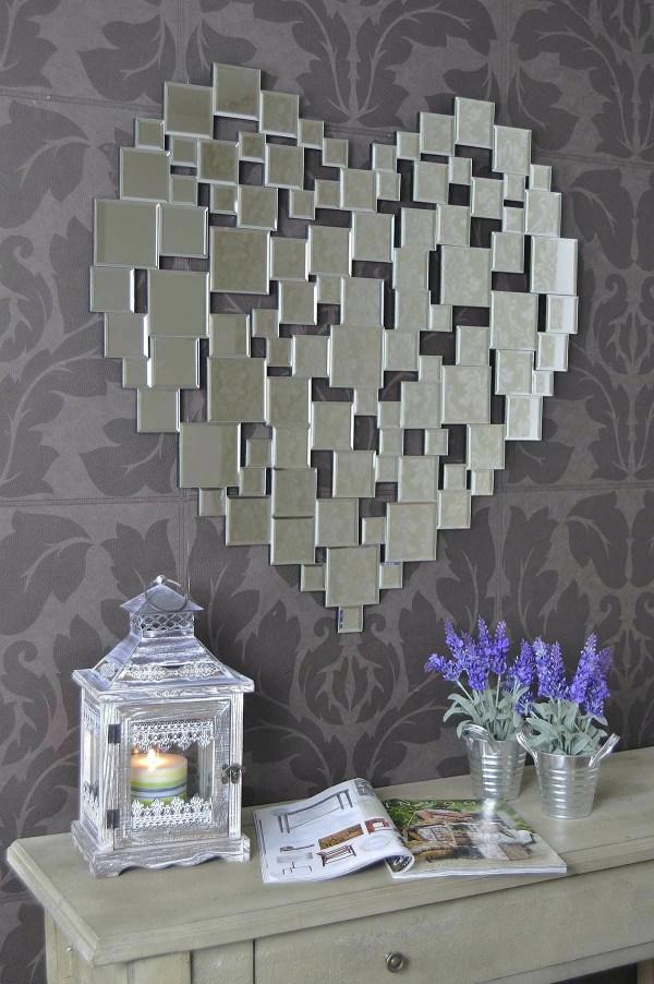 Heart Shaped Venetian Wall Mirror