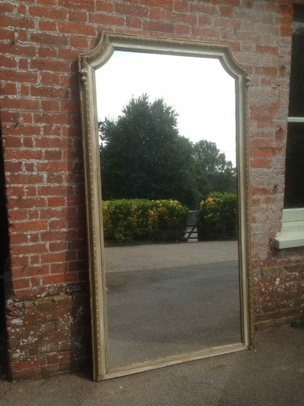Antique French Floor Mirrors Large