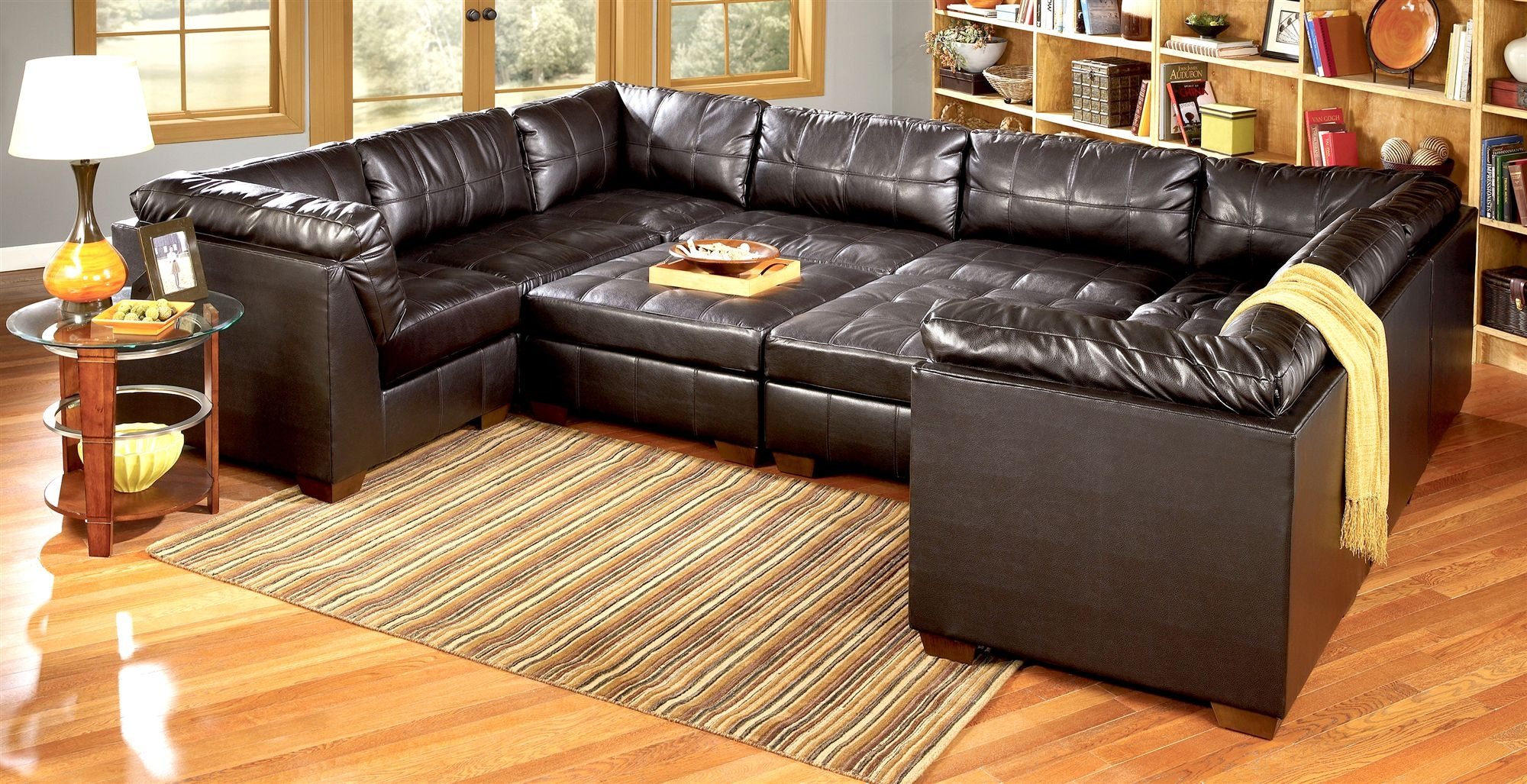 harper fabric 6 piece modular sectional sofa comfortable bed for daily use canada 15 collection of ideas