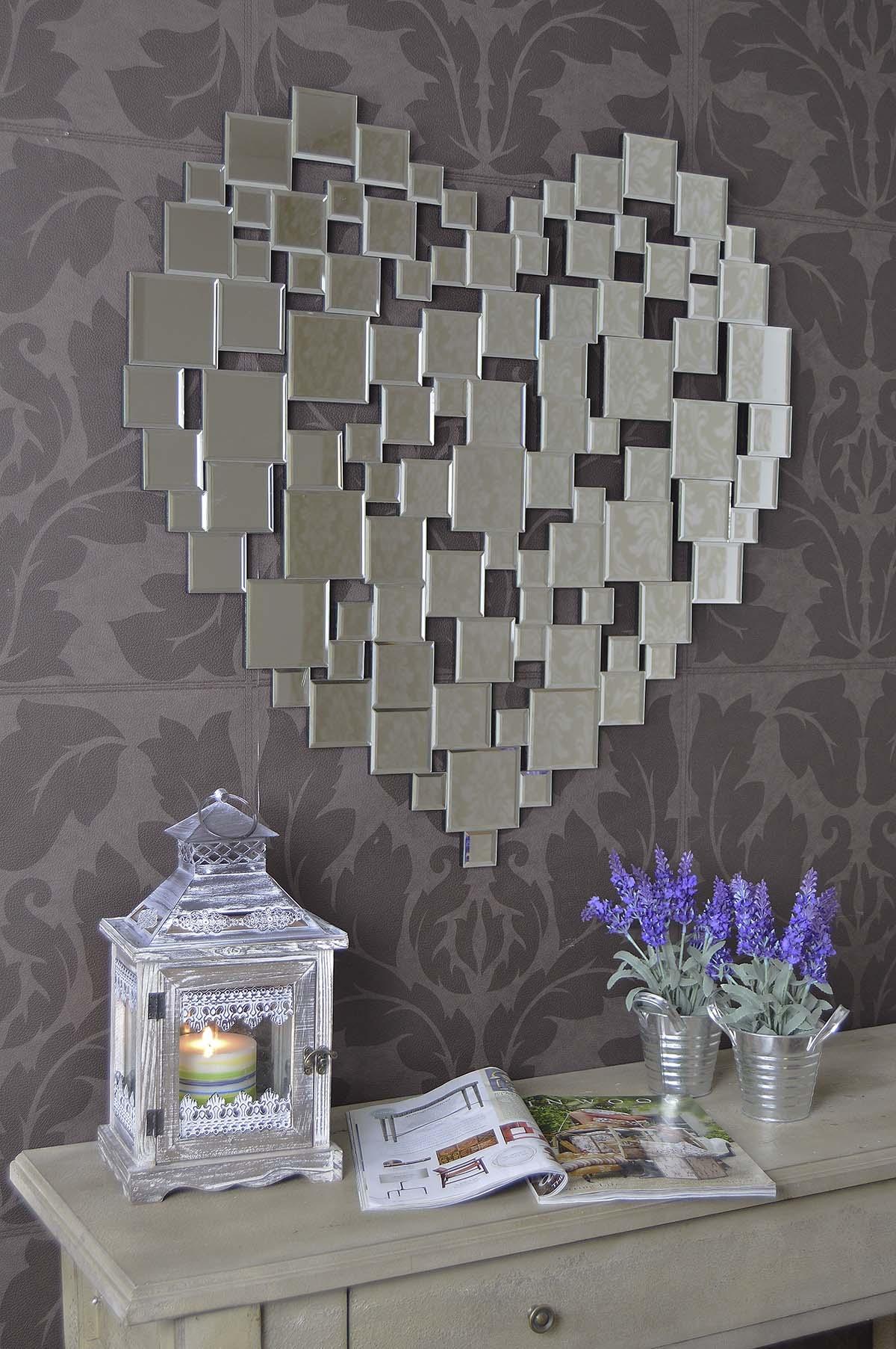 15 Heart Wall Mirror  Mirror Ideas